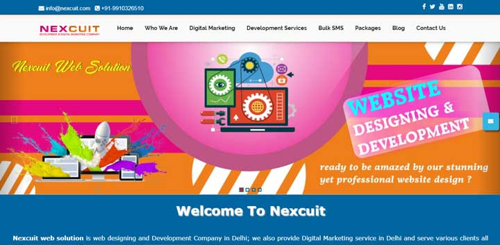 web-design-nexcuit
