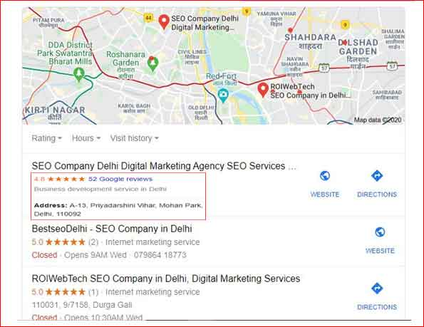How to achieve ranking in Google My Business Page nexcuit digital marketing company
