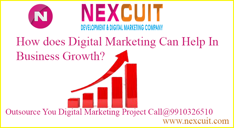 How does Digital Marketing Can Help In Business Growth