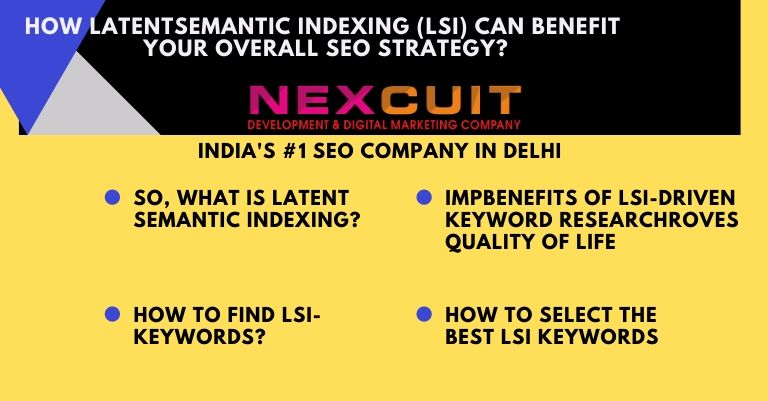 How Latent Semantic Indexing (LSI) Can Benefit your Overall SEO Strategy?