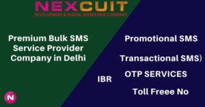 Premium Bulk SMS Service Provider Company in Delhi