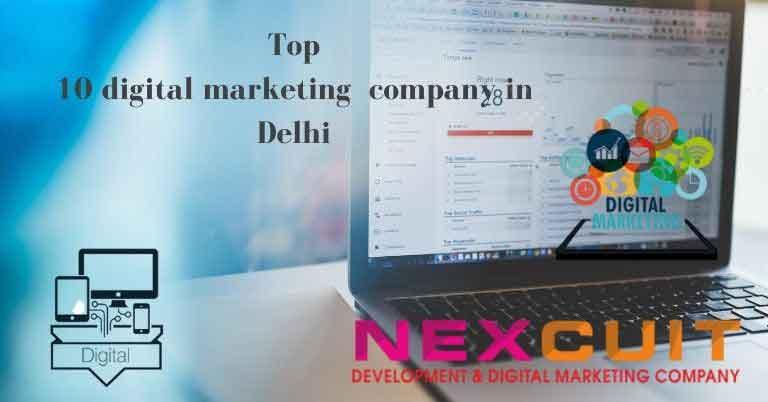 Top 10 digital marketing company in Delhi
