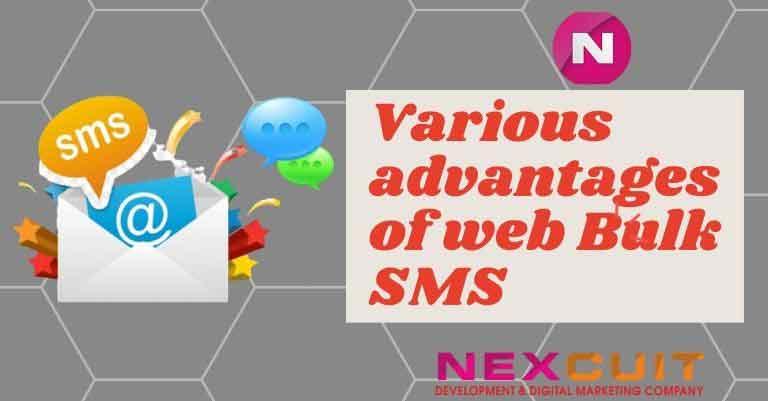 Various advantages of web Bulk SMS services