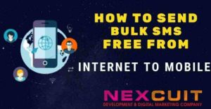 How to send bulk SMS free from internet to mobile