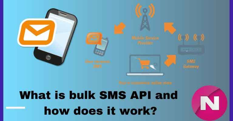 What is bulk SMS API and how does it work?