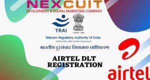 Airtel DLT Registration