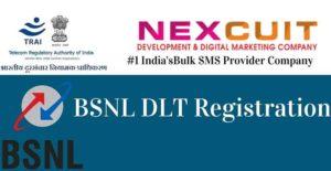 BSNL DLT Registration