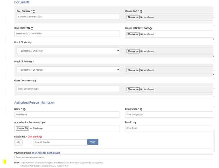 Videocon DLT Registration as a Telemarketer