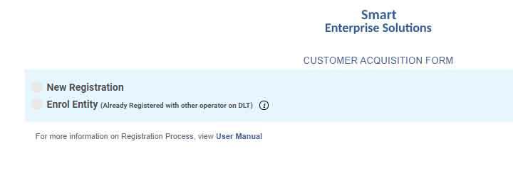 Videocon DLT Registration signup click login