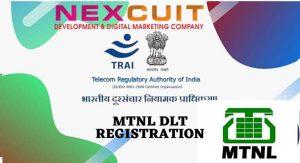 MTNL DLT REGISTRATION